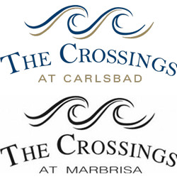 The Crossings at Carlsbad and Marbrisa Logos