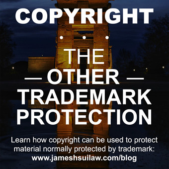 Copyright...the Other Trademark Protection. Learn how copyright can be used to protect material normally protected by trademark.
