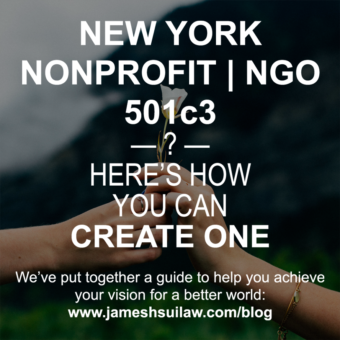 How to Start a New York 501(c)(3) Nonprofit/NGO