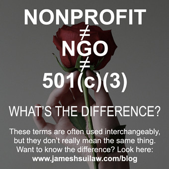 Nonprofit, NGO & 501(c)(3) – What's the Difference?